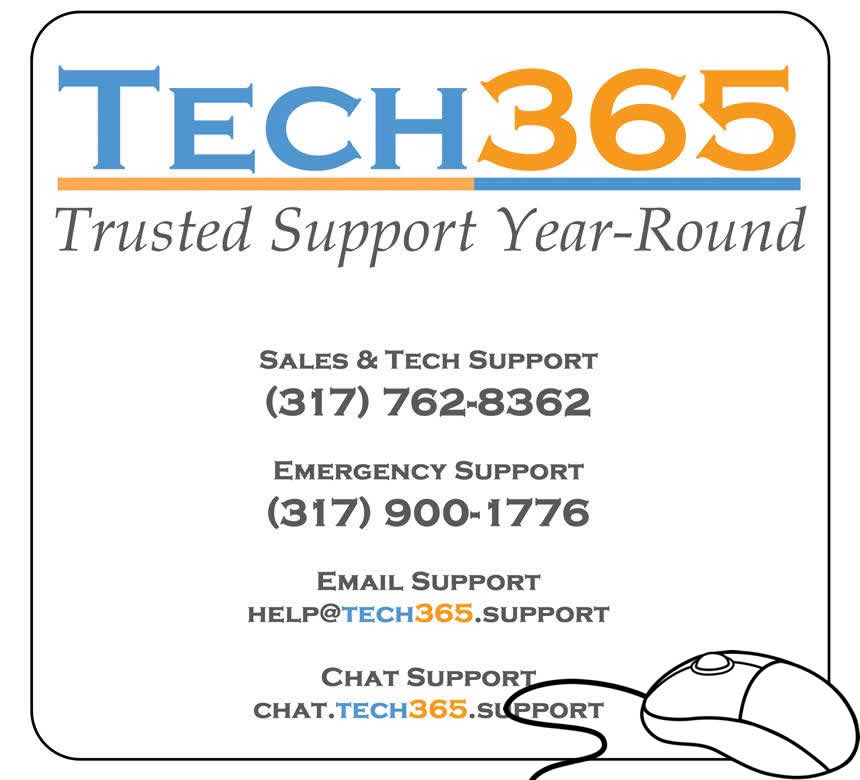 Picture of Tech365 Mousepad We Give to Clients